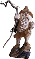 Small Wooden Dwarf (morguefile royalty-free photo)