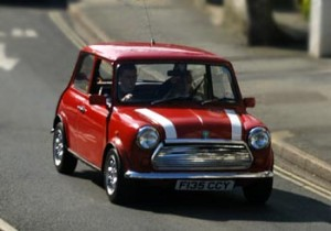 Mini-Cooper, photo courtesy of www.Copyright-free-photos.org.uk