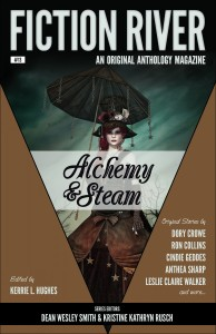 Alchemy & Steam, a Fiction River anthology, containing the story Heaven's Flight by Leigh Saunders