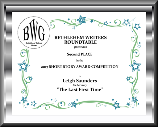 2017 Bethlehem Writers Roundtable award